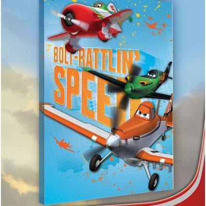 Výpredaj - Obraz na plátne detský Lietadla 60 x 40 cm