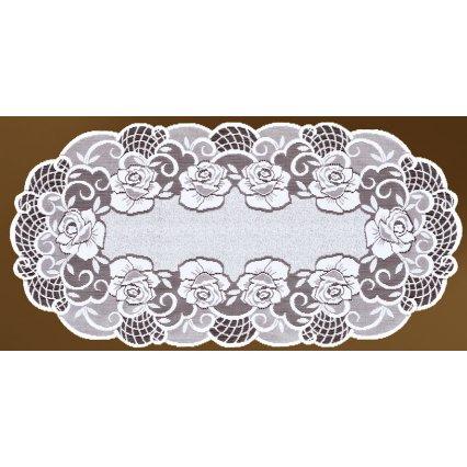 Behúň na stôl kusový UK20717 biely