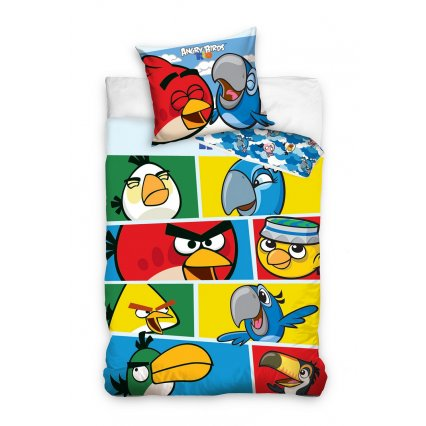 Detské obliečky Angry Birds - Rio