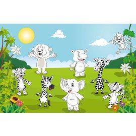 Fototapety na stenu Happy Animals F605