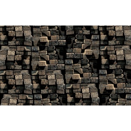 3D Fototapeta Brick