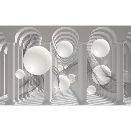 3D Fototapeta Biele gule