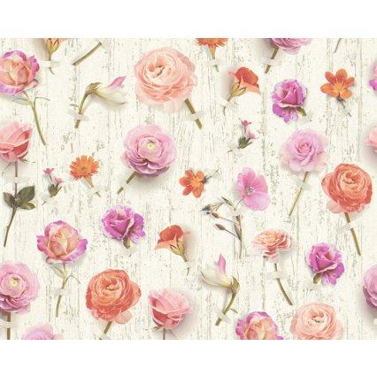 Výpredaj - tapety na stenu Urban Flowers 327233