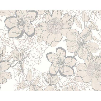 tapety na stenu Urban Flowers 327981