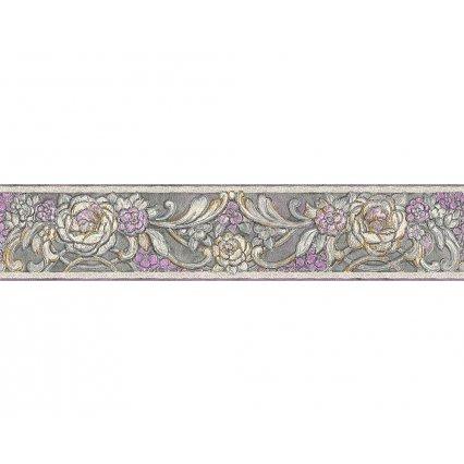 Tapety na stenu Kind Of White 340784 - bordúra