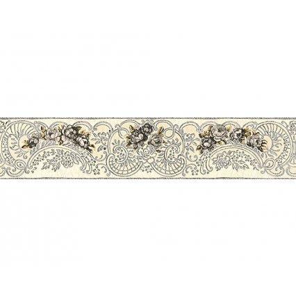 Tapety na stenu Kind Of White 340742 - bordúra