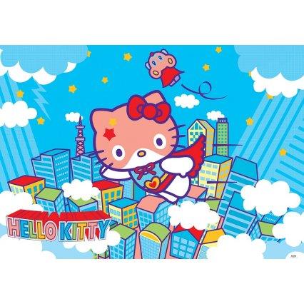 Výpredaj - Detská fototapeta Hello Kitty Hero