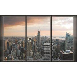 Fototapeta New York - pohľad z okna