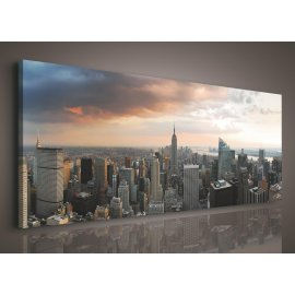 Obraz na plátne New York 145 x 45 cm