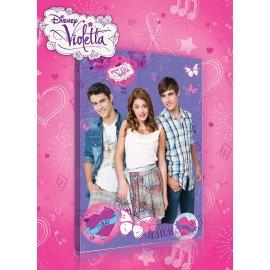 Výpredaj - Obraz na plátne detský Violetta a priatelia 60 x 40 cm