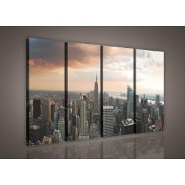 Obraz na plátne New York 120 x 80 cm 4-dielny
